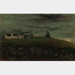 Claude Venard (French, 1913-1999)      Shore Scene.