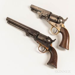 Two 1849 Colt Pocket Revolvers