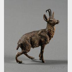 Austrian Cold Painted Bronze Figure of a Deer