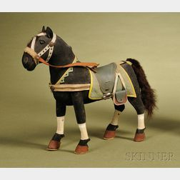 Wool and Felt Covered Horse Toy