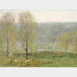 Joseph H. Greenwood (American, 1857-1927)      Spring in the Hills