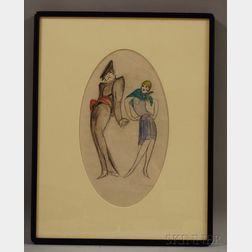 Charles Gesmar (European, 1900-1928)      Fashion Sketches