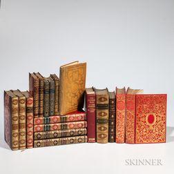 Decorative Bindings, Eighteen Volumes.