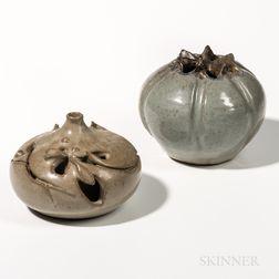 Two Loet Vanderdeen (1921-2015) Pottery Vessels