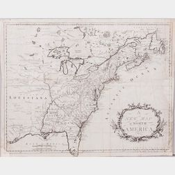 North America, East Coast, Two 18th Century Maps.