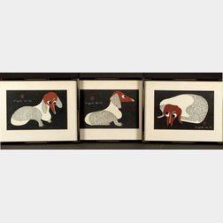 Three Saito Kiyoshi Prints