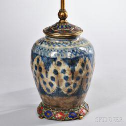Persian-style Porcelain Lamp Base