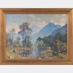 Hezekiah Anthony Dyer (American, 1872-1943)    Mountain Lake