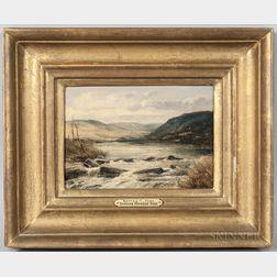 Thomas Morris Ash (British, 19th/20th Century)      Bettws-y-Coed, North Wales