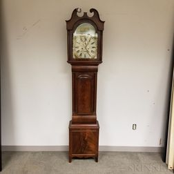 Mahogany Scottish Long Case Clock