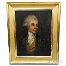 British School, 18th Century       Portrait of a Man
