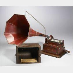 "Edison ""Red"" Gem Phonograph"