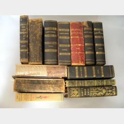 Twelve Bound Volumes of Godey's Lady's Book