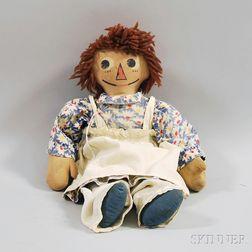 Molly-'es Raggedy Ann Cloth Doll
