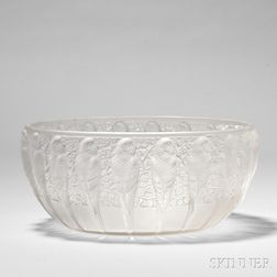 "R. Lalique ""Perruches"" Coupe"