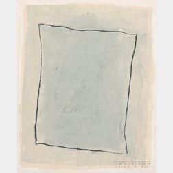 Jake Berthot (American, 1939-2015)      January White Group #2
