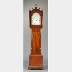 Jeffrey Mahogany Tall Case Clock