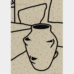 Patrick Caulfield (British, 1936-2005)      Plant Pot