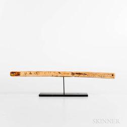 Eskimo Walrus Ivory Bow Drill