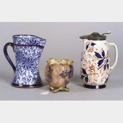 Three English Earthenware Items