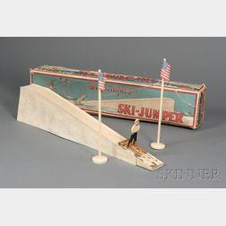 Boxed Schoenhut Ski Jumper