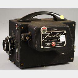 Fairchild Oscillograph-Record Camera