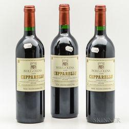 Isole e Olena Cepparello 1998, 3 bottles
