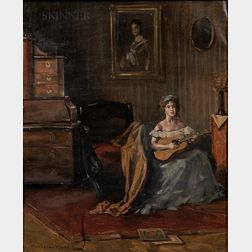 Endre Komaromi-Kacz (Hungarian, 1880-1969)      Afternoon Serenade