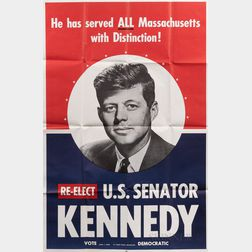 Two John F. Kennedy (1917-1963) Campaign Posters.