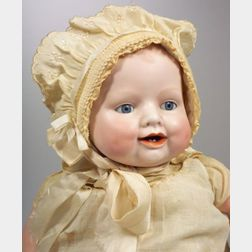 "Georgene Averill ""Bonnie Babe"" Bisque Head Baby Doll"