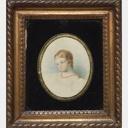 "Portrait of ""The Hon. Ms Ada Byron,"""