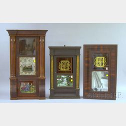 Three Incomplete Connecticut Shelf Clocks