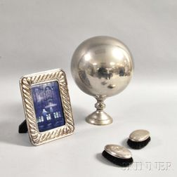Four Silver and Silver-plated Items