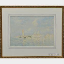 George Elbert Burr (American, 1859-1939)      View of Venice