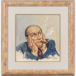 Arthur Sarnoff (American, 1912-2000)      Unexpected News