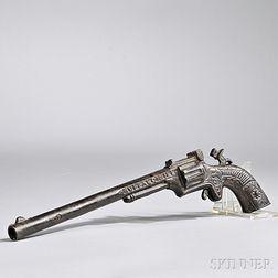 Buffalo Bill Cast Iron Long Barrel Cap Gun