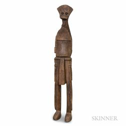 Large African Carved Wood Figure