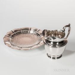 Two Pieces of Gorham Sterling Silver Tableware