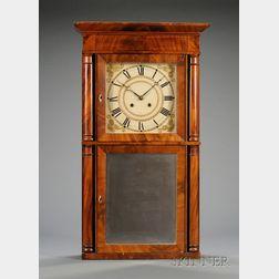 Mahogany Shelf Clock by Silas B. Terry