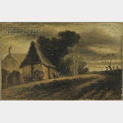 Attributed to John Crome the Elder (British, 1768-1821)      Landscape in Norfolk
