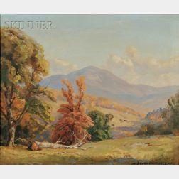 Frederick Ballard Williams (American, 1871-1956)      Autumn Hills