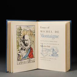 Montaigne, Michel de (1533-1592) Essays