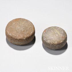 Two Hawaiian Game Stones