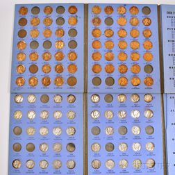 Large Group of American Coins