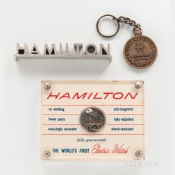 Hamilton Electric 500 Movement Display Model