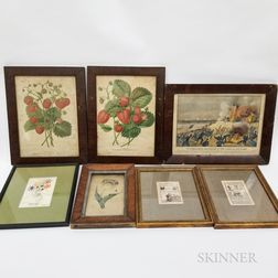 Seven Framed Prints