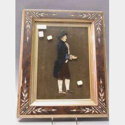 Framed Dimensional Dressed Figure of George Washington
