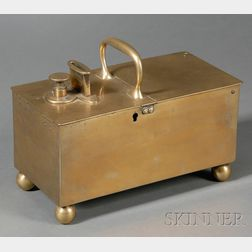 """Brass Coin-Operated Tobacco """"Honesty Box,"""""""