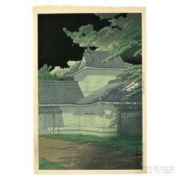 Kawase Hasui (1883-1957), Aoba Castle in Sendai