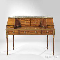 Regency-style Mahogany Carlton House Desk